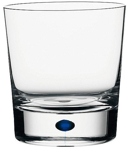 Orrefors Intermezzo Blue Double Old Fashioned Glass