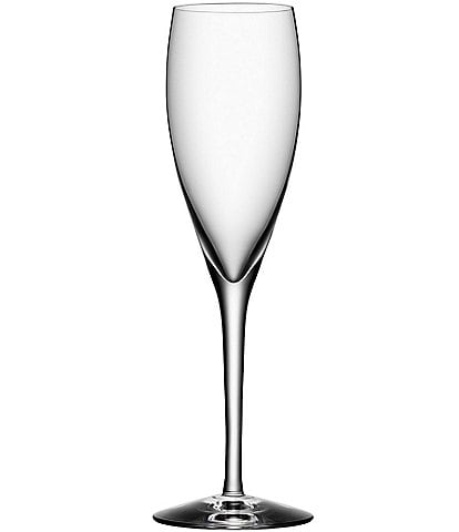 Orrefors More Crystal Champagne Flutes, Set Of 4
