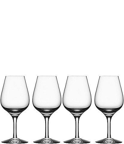 Orrefors More Set of 4 Crystal Spirits Glasses