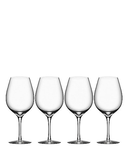 Orrefors More Wine XL Glasses, Set of 4