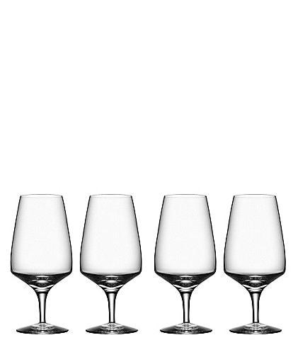 Orrefors Pulse Beer Glass, Set of 4