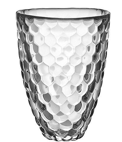 Orrefors Raspberry Crystal Vase