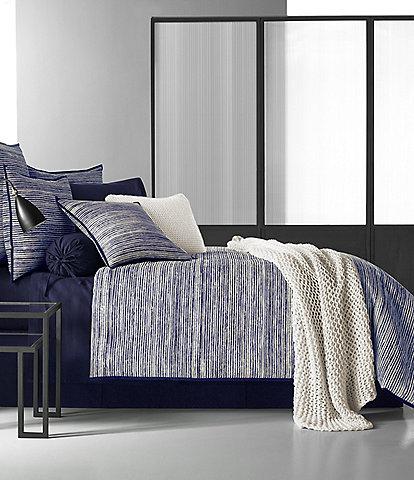 Oscar & Oliver Flen Brushstroke Twill Comforter Set