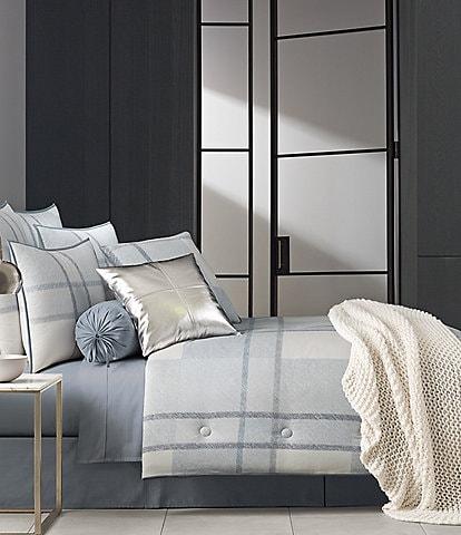 Oscar & Oliver Leighton Plaid Twill Comforter Set
