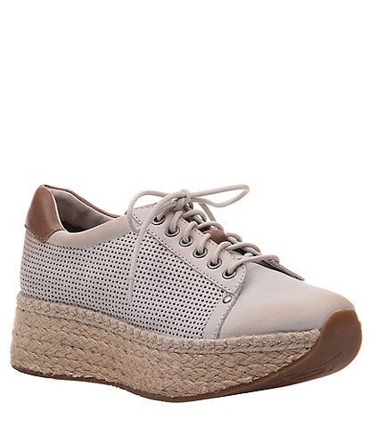 OTBT Meridian Leather Espadrille Sneakers
