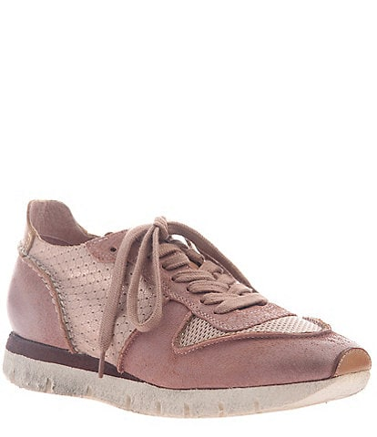 OTBT Snowbird Suede & Leather Wedge Sneakers