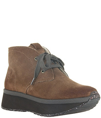 OTBT Wander Suede Chukka Ankle Booties