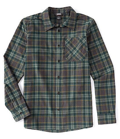 Outdoor Research Kulshan Flannel Long-Sleeve Plaid Woven Shirt