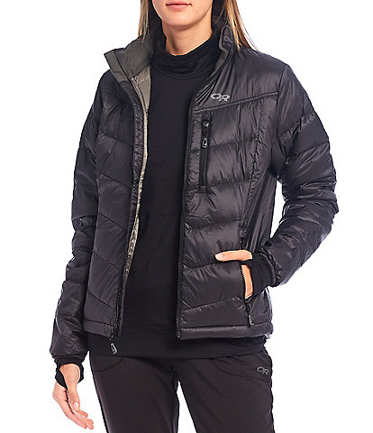 Outdoor Research Transcendent Down Puffer Zip Front Jacket