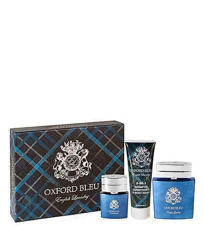 Oxford Bleu by English Laundry Gift Set