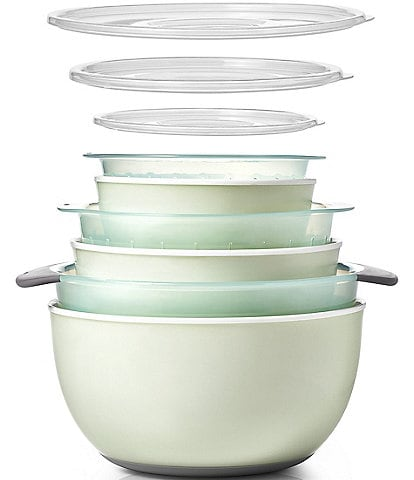 OXO 9-Piece Nesting Bowls and Colanders Sets