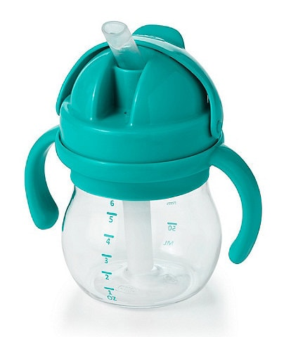 OXO Tot Baby Feeding Transitions Straw Sippy Cup