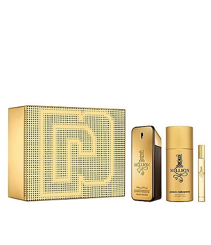 Paco Rabanne 1 Million Eau de Toilette 3-Piece Set
