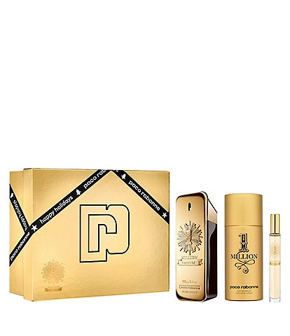 Paco Rabanne 1 Million Parfum 3-Piece Gift Set