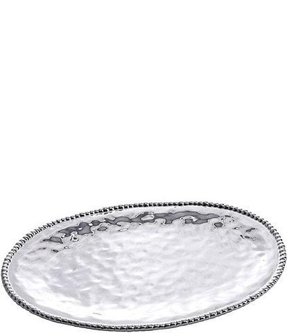 Pampa Bay Verona Porcelain Silver Large Oval Platter