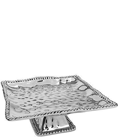 Pampa Bay Verona Porcelain Square Cake Plate