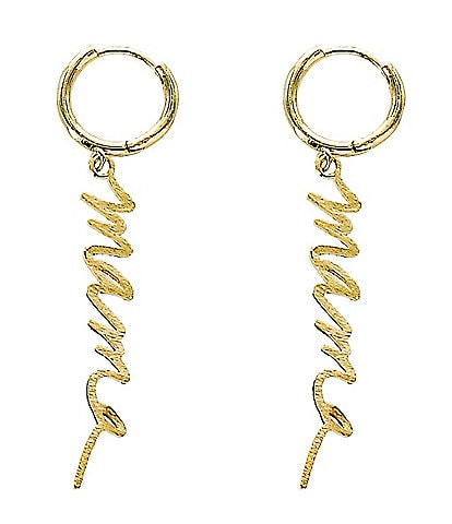 Panacea Mama Hoop Earrings