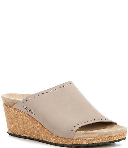 Papillio by Birkenstock Namica Rivets Cork Wedges