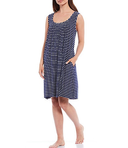 Papinelle Striped Modal Nightgown