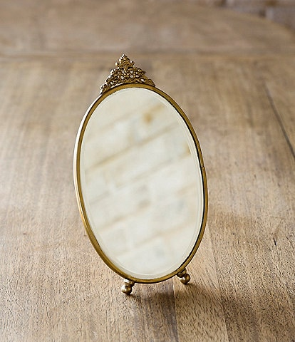 Park Hill Antique Brass Vanity Mirror