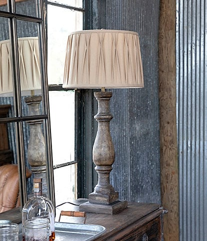 Park Hill Vintage Farmhouse Collection Column Lamp