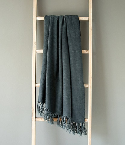 Park Hill Washed Linen Throw