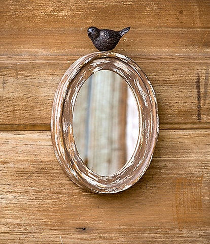 Park Hill Wood Oval Mirror