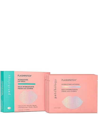 Patchology Lip Renewal Flash Patch® 5-Minute Hydrogel 5-Pack