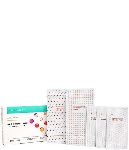 Patchology's Breakout Box 3-in-1 Acne Treatment Kit