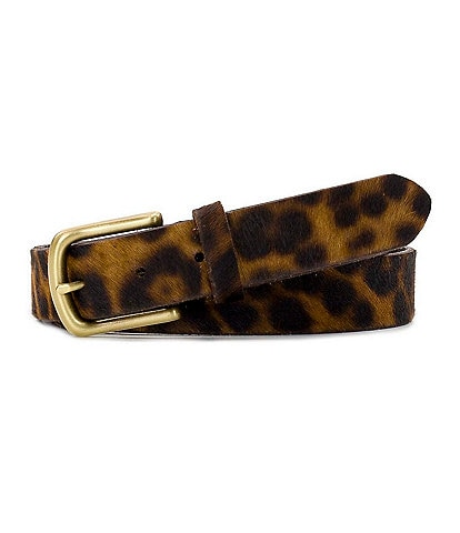 Patricia Nash 1.25#double; Pelosa Leopard Haircalf Belt