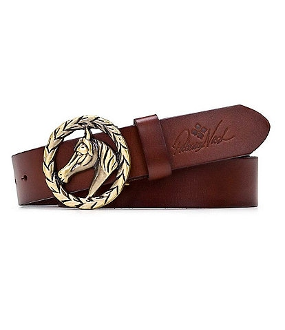Patricia Nash 1.25#double; Morely Horse Buckle Belt