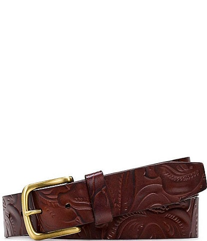 Patricia Nash 1.25#double; Pelosa Tooled Belt