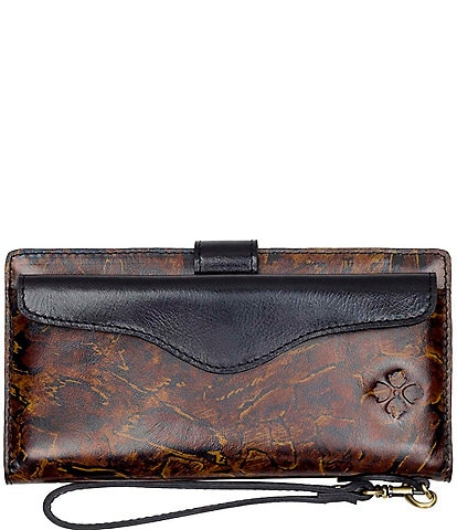 Patricia Nash Abstract Animal Print Collection Valentia Wallet