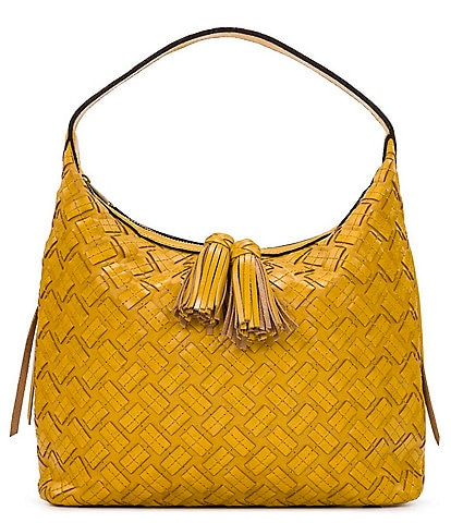 Patricia Nash Braided and Stitched Maissana Hobo Bag
