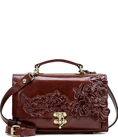 Patricia Nash British Tanned Collection Charonne Satchel Bag