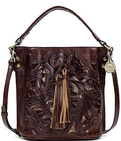 Patricia Nash British Tanned Collection Otavia Crossbody Bag