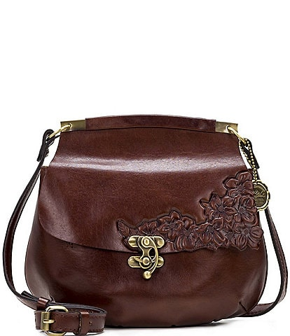 Patricia Nash British Tanned Collection Veneto Crossbody Bag
