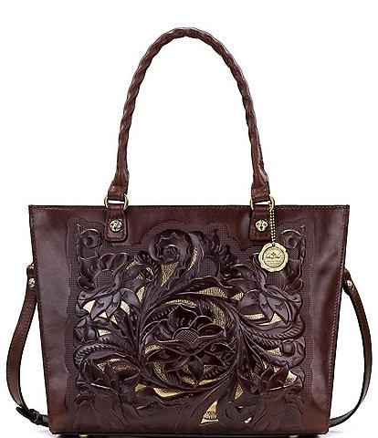 Patricia Nash British Tanned Collection Zancona Tote Bag