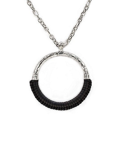 Patricia Nash Carmelina Wrapped Ring Pendant Necklace