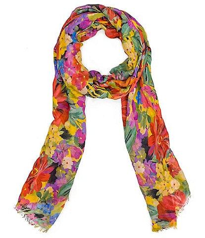 Patricia Nash Citrus Sunrise Collection Scarf