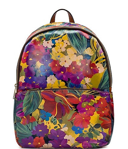 Patricia Nash Citrus Sunrise Collection Turi Backpack