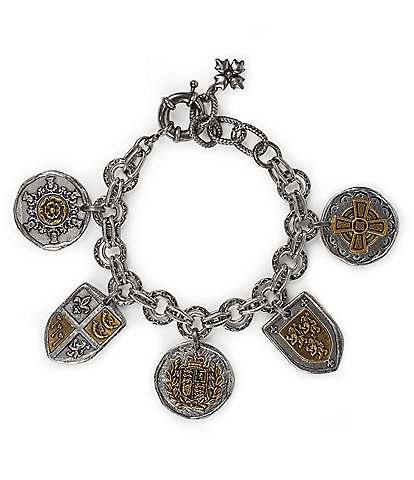 Patricia Nash Coin and Crest Bracelet