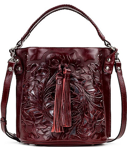 Patricia Nash Cut Out Tooling Collection Otavia Bucket Bag