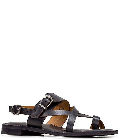 Patricia Nash Fidella Toe Ring Leather Sandals
