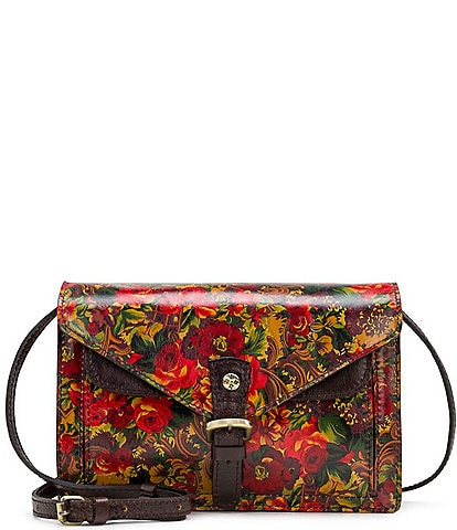 Patricia Nash Golden Rustic Forest Collection Cassano Crossbody Bag