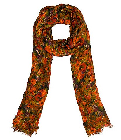 Patricia Nash Golden Rustic Forest Collection Scarf