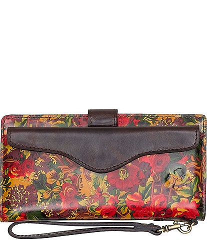 Patricia Nash Golden Rustic Forest Collection Valentia Wallet