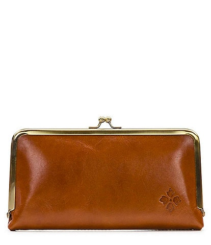 Patricia Nash Heritage Collection Everly Leather Frame Wallet