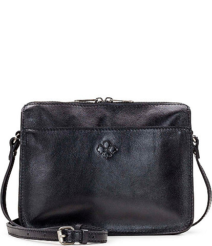 Patricia Nash Heritage Collection Nazaire Top Zip Crossbody Bag