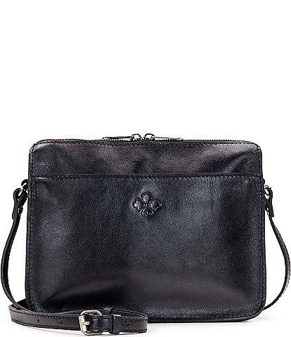 Patricia Nash Heritage Collection Nazaire Top Zip Crossbody Bag